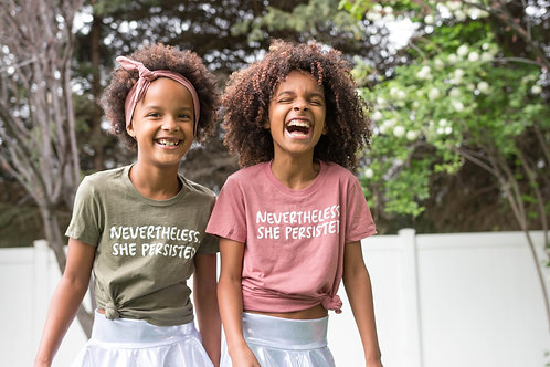 Toddler & Youth - NEVERTHELESS, SHE PERSISTED
