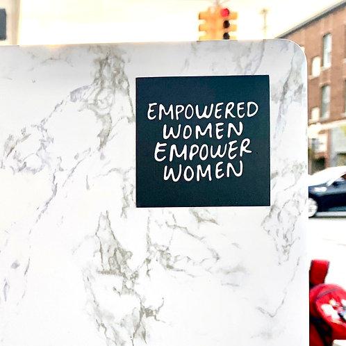 EMPOWERED WOMEN Sticker
