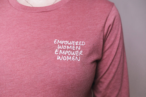 EMPOWERED WOMEN - Long Sleeve Shirt