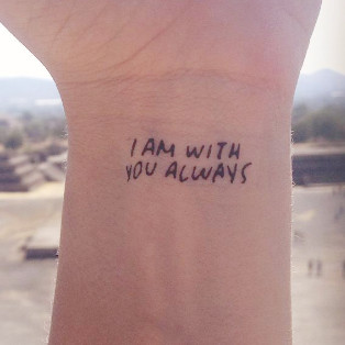 BIBLE VERSE TATTOO 10 PACK | Inkcourage: Encouraging Temporary Tattoos