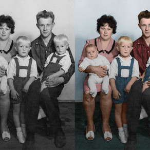 New service: Colorising old black and white pictures