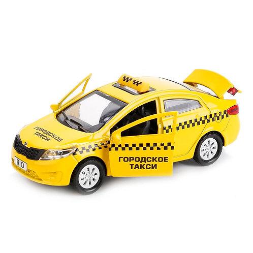 Технопарк Коллекционная модель автомобиля KIA RIO Такси