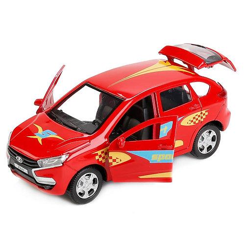 Технопарк Коллекционная модель автомобиля LADA XRAY Спорт