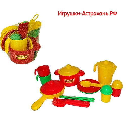 Полесье. Игровой набор детской посуды Настенька на 2 персоны