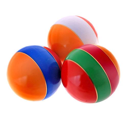 Мяч лакированный, с полосой 150 мм