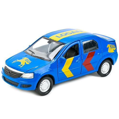 Технопарк Коллекционная модель автомобиля Renault Logan Спорт
