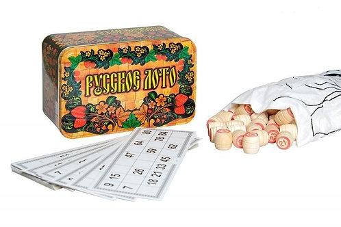 Настольная игра Русское лото (Подарочный набор)