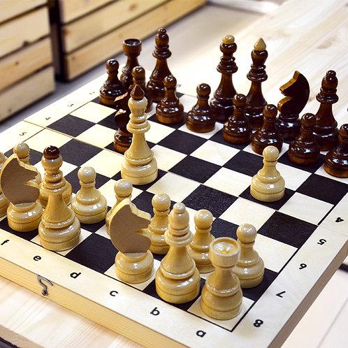 Настольная игра Шахматы гроссмейстерские (турнирные)