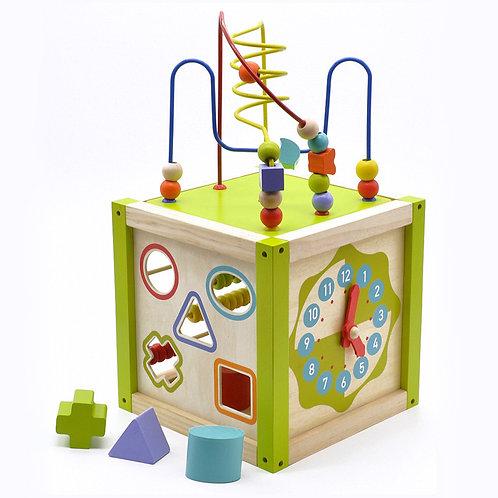 МДИ Д260 Игрушка из дерева Универсальный куб
