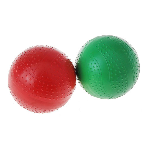Мяч резиновый 75 мм 38 ЛП лакированный