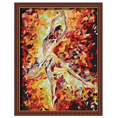 Color Kit. Картина по номерам Балерина 30 х 40 см