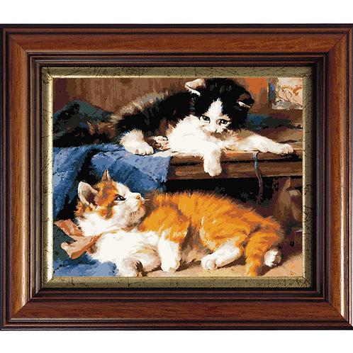 Color Kit. Картина по номерам Котята 40 х 50 см