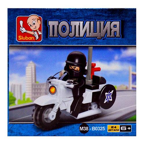 Конструктор Sluban Полицейский мотоцикл