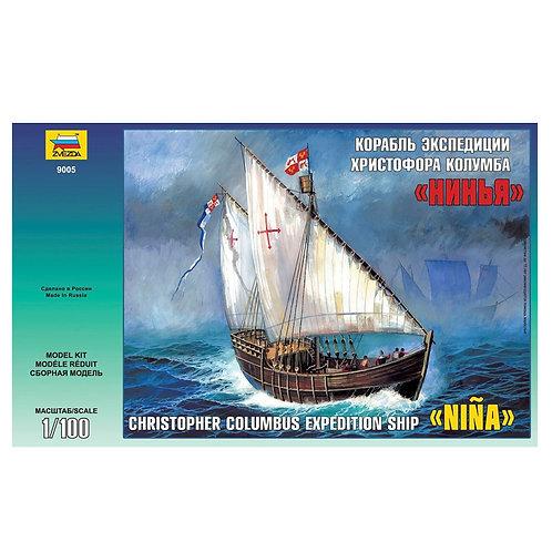 "Звезда 9005. Корабль Христофора Колумба ""Нинья"""