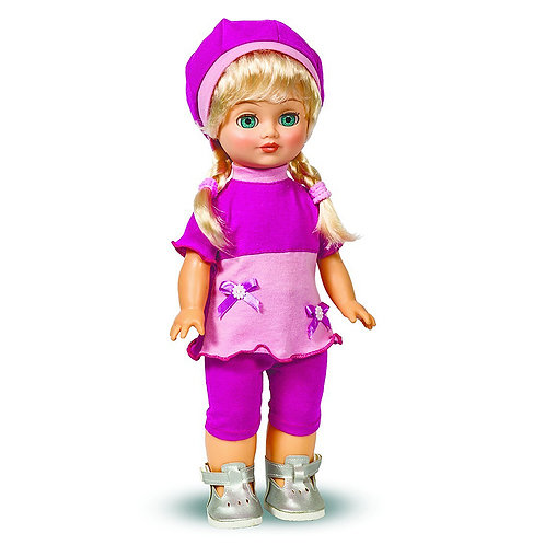 Кукла Лена Весна 10 со звуковым устройством