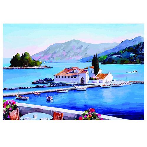 Color Kit. Картина по номерам Греция 30 х 40 см