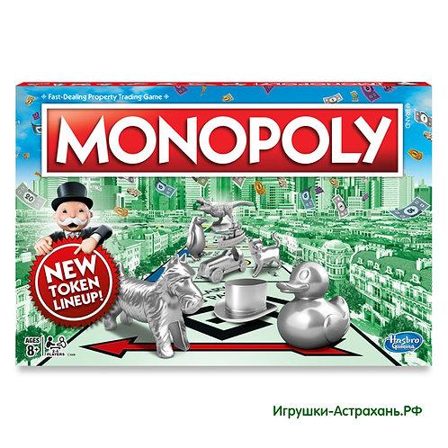 Настольная игра Классическая Монополия с новыми фишками