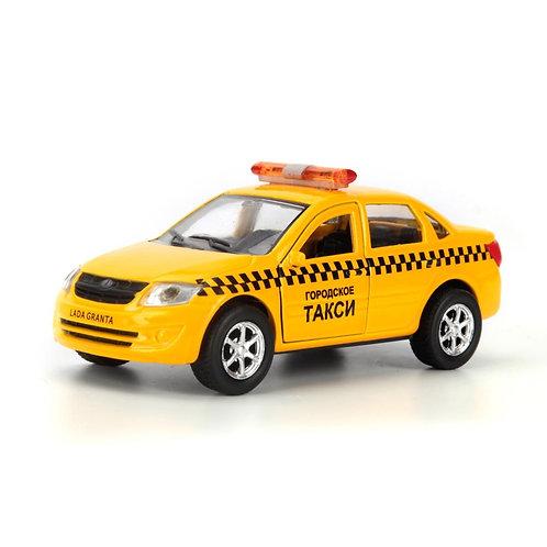 Технопарк Коллекционная модель автомобиля Такси LADA GRANTA