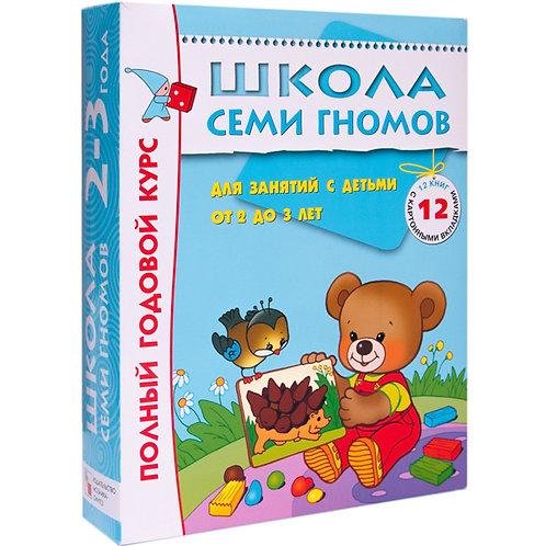 Школа Семи Гномов 2-3 года. Полный годовой курс