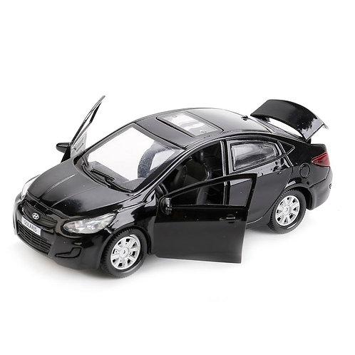 Технопарк Коллекционная модель автомобиля Hyundai Solaris