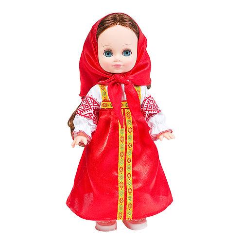 Кукла Элла Весна в русском костюме со звуковым устройством