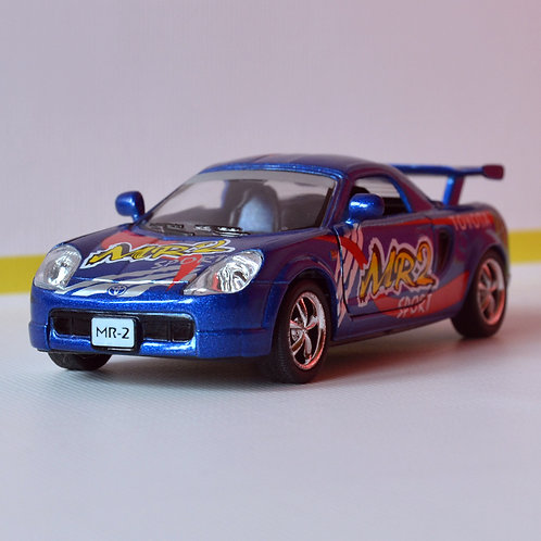 Kinsmart Коллекционная модель автомобиля Тойота MR2