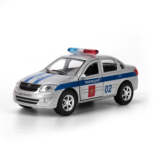 Технопарк Коллекционная модель полицейского автомобиля LADA GRANTA