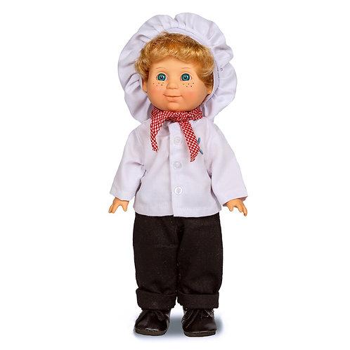 Кукла Весна. Митя Кулинар со звуковым устройством
