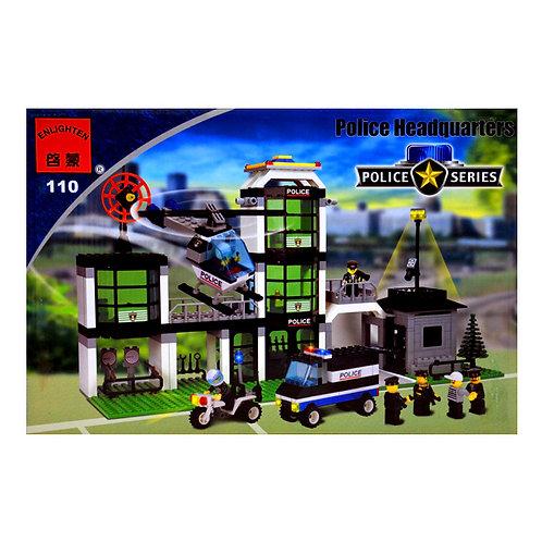 Конструктор Brick 110 Полицейский участок