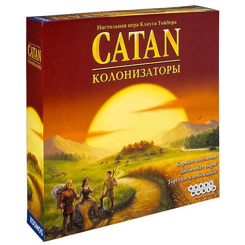 Настольная игра Колонизаторы. Базовая версия