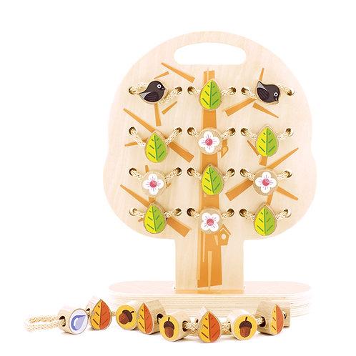 МДИ Д104 Игрушка Дерево-шнуровка «Времена года»