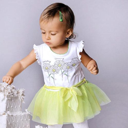 Wojcik. Платье для девочки I LOVE DAISIES (KOCHAM STOKROTKI)