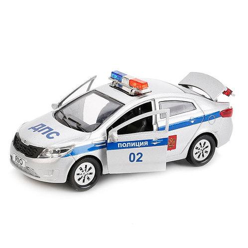 Технопарк Коллекционная модель автомобиля ДПС KIA RIO