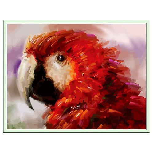 Color Kit. Картина по номерам Попугай 30 х 40 см