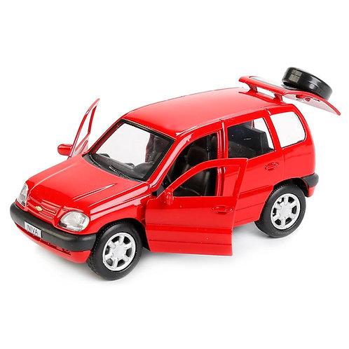 Технопарк Коллекционная модель автомобиля Нива Шевроле