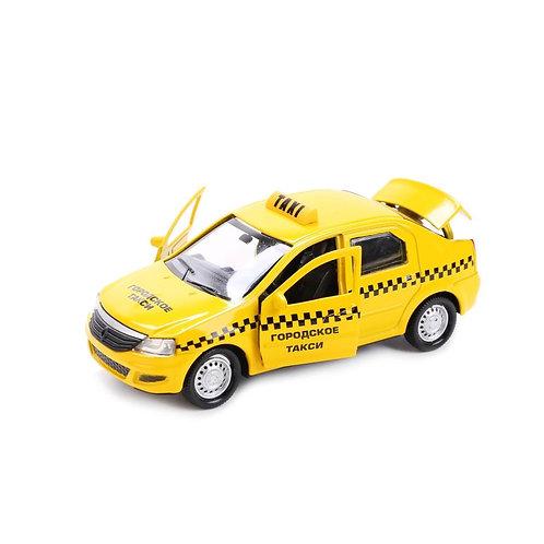 Технопарк Коллекционная модель автомобиля Renault Logan Такси