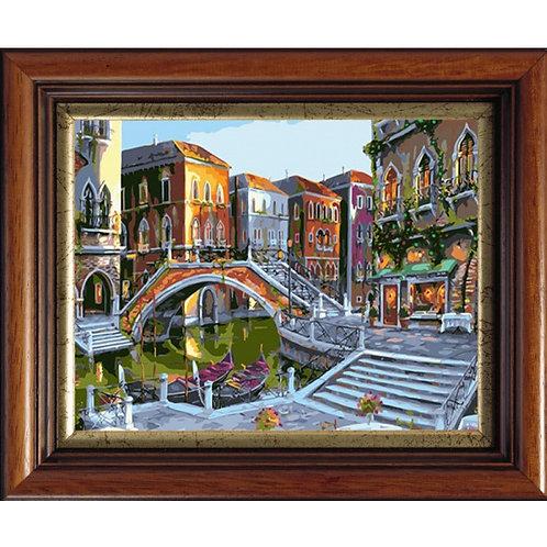Color Kit. Картина по номерам Рассветная Венеция 40 х 50 см