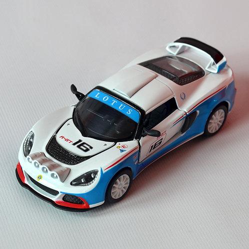 Kinsmart Коллекционная модель автомобиля Lotus Exige R-GT