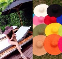 straw hat beach hat