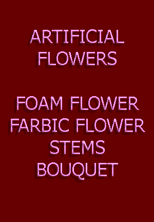 artificial flower exporter