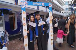 Alumnos graduados de Preparatoria UNAM