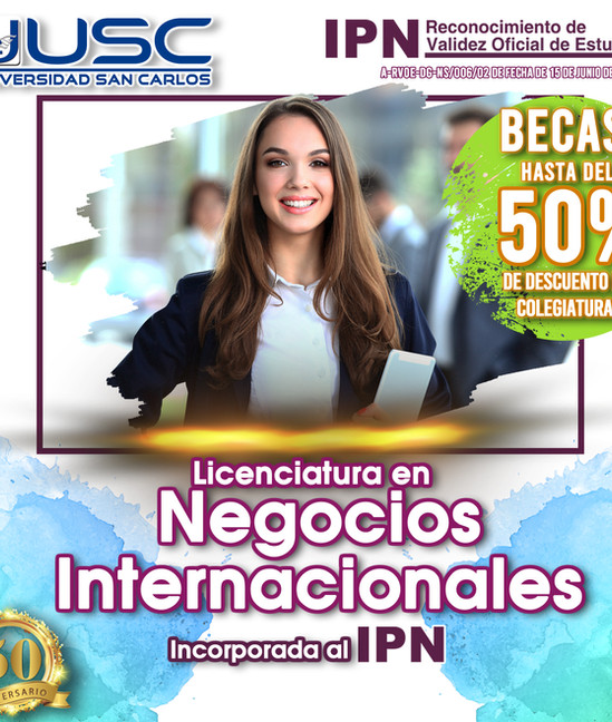 Negocios Internacionales USC