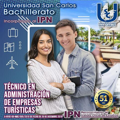 Tec. Admin Empresas Turisticas. Bach 202