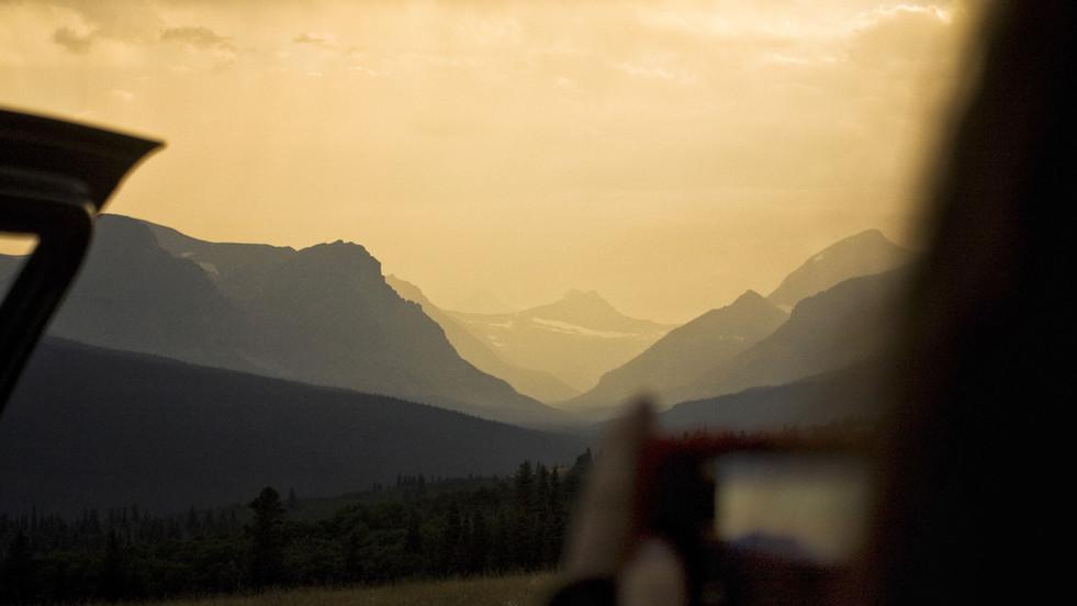 Alpine Glow // Glacier National Park, MT