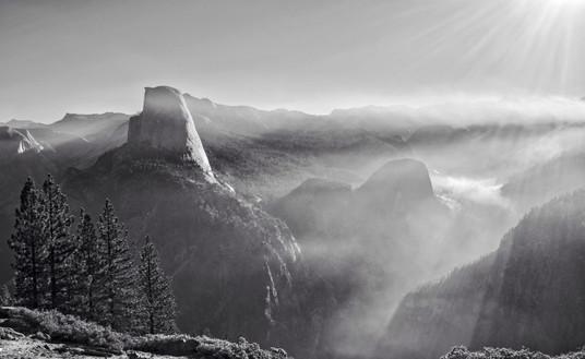Half Dome Smoke // Yosemite National Park, CA