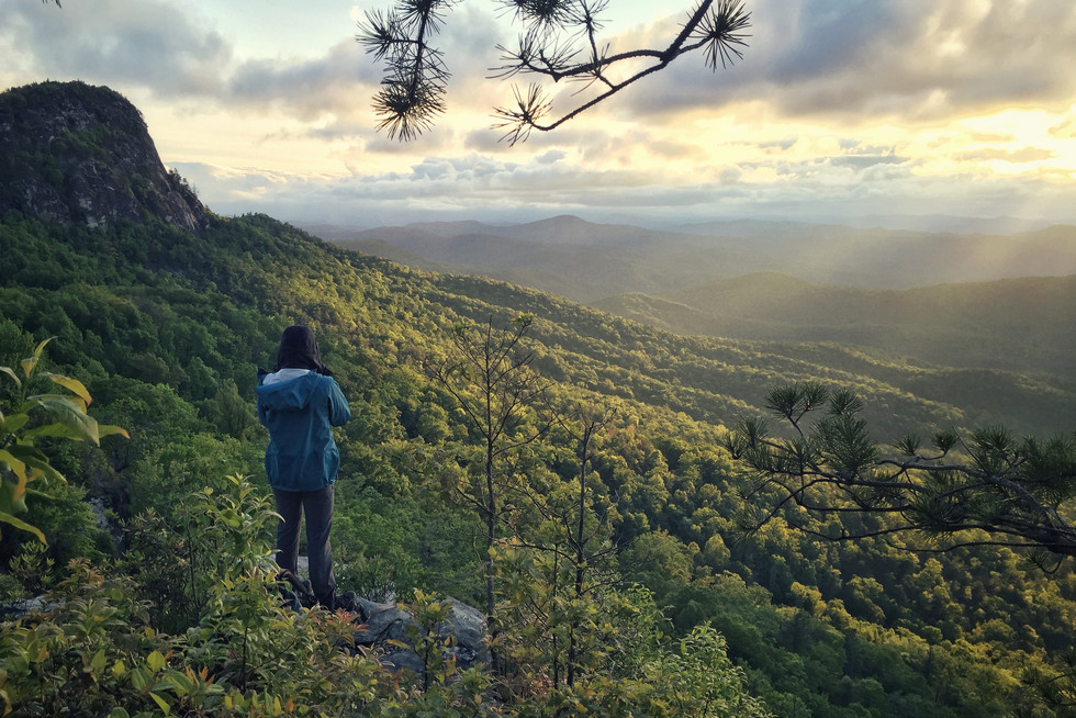 Table Rock Sunrise // Pisgah National Forest, Linville Gorge, NC