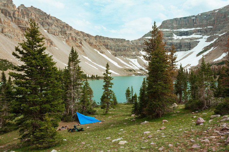 Amethyst Lake Camp // Uinta-Wasatch-Cache National Forest, UT