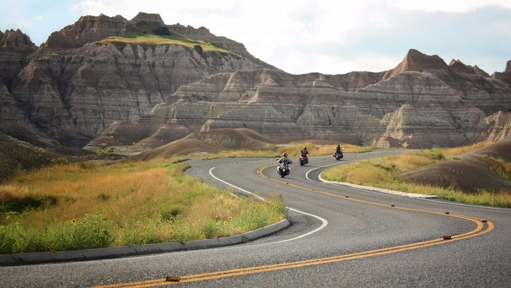 Badlands Bikers // Badlands National Park, SD