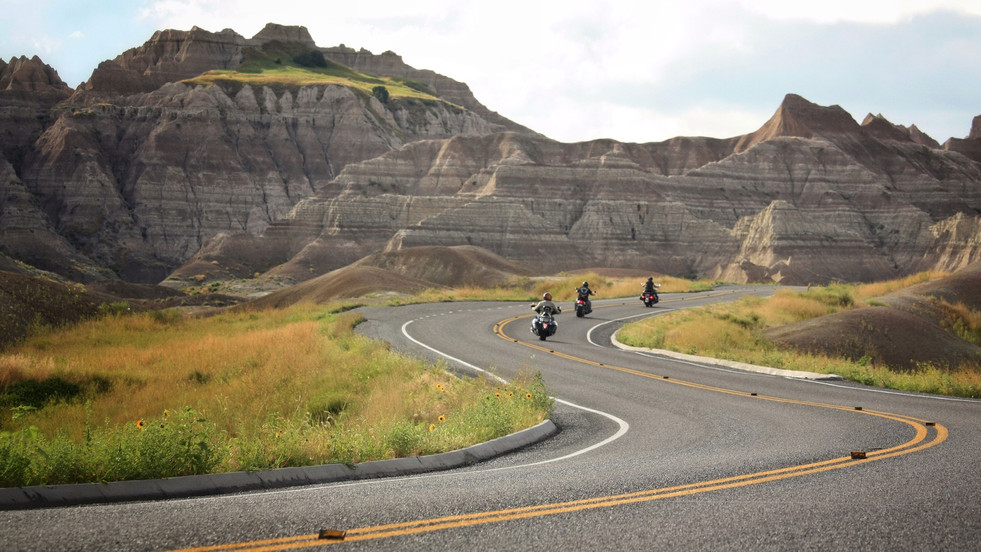 Badlands Bikers // Badlands National Park, SD