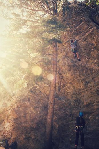 Warm up // Big Cottonwood Canyon, UT